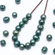 30 Pcs 2.5mm large hole freshwater pearl, 10-11mm potato loose pearl bead, loose freshwater pearl,  ETS-L0063