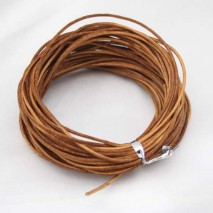 Wholesale 1.5 mm primary color Leather cord,Bracelet leather cord,genuine leather cord,leather cord for jewelry, 10 yards ,ETS-P006