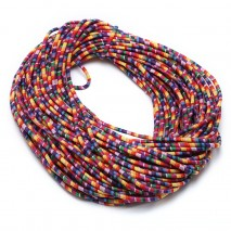 ETS-P084 Length 10 yards diameter 6 mm complex color cloth rope