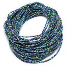 Aobei Pearl, ETS-P090, Length 10 yards diameter 6 mm complex color cloth rope
