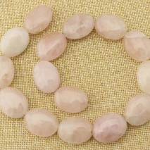 1 string of about 15 pcs, 18MM * 25mm natural square pink crystal beads,natural stone for sale ,wholesale crystal  beads,square beads for jewelry making,ETS-T110
