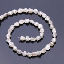 Aobei Pearl, 1 Strand from the Sale, Keshi Shape Cultured Freswhater Pearls for Jewelry Making, Jewelry Findings, ETS-Z225