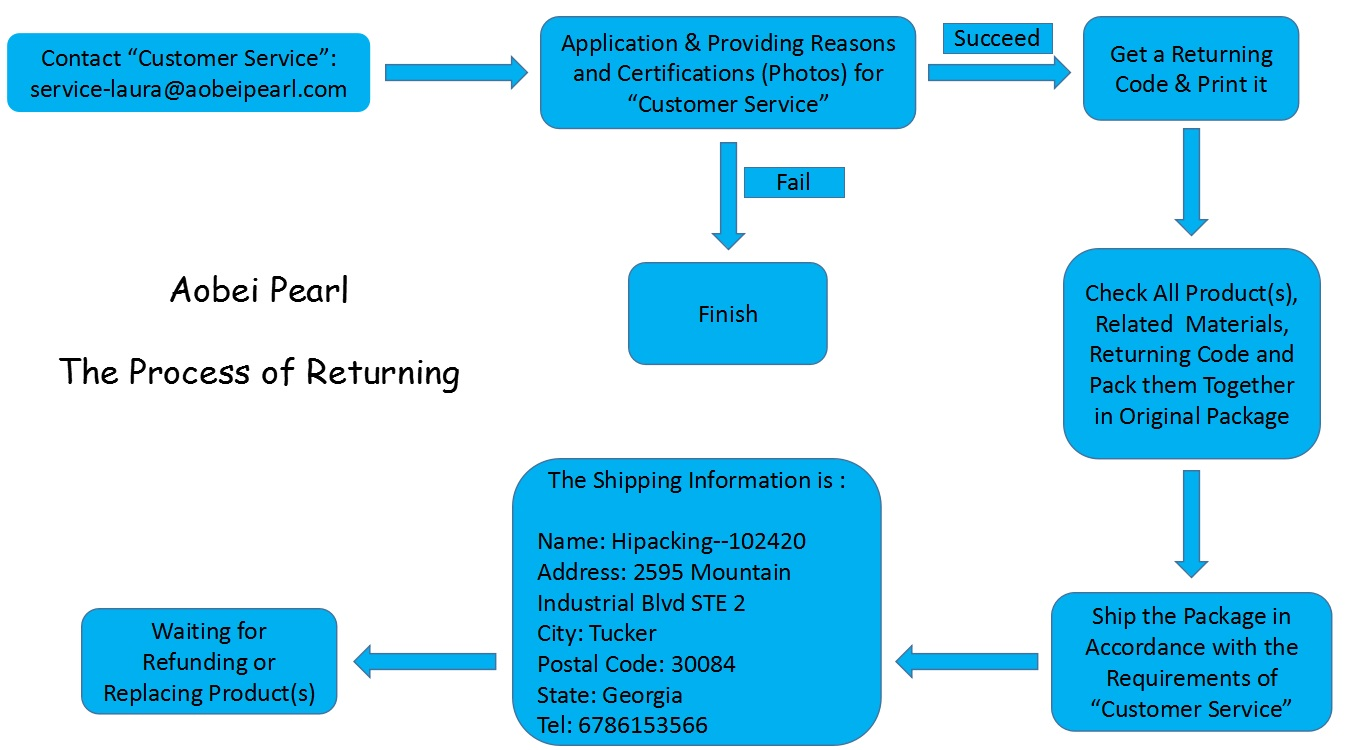 The Flow Chart of Returning