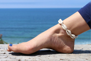 Aobei Pearl Handmade Adjustable Shell Anklet